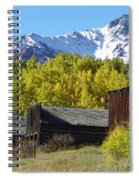 Fall At Ashcroft Spiral Notebook