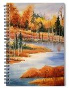 Fall At Elk Island  Spiral Notebook