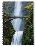Fall At Multnomah Falls Spiral Notebook