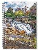 Fall At Reedy River Spiral Notebook