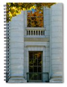 Fall At The Capitol Spiral Notebook