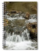 Fall At The Lower Falls Spiral Notebook
