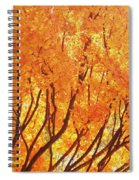 Fall At The Shore Spiral Notebook