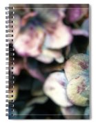 Fall Blues Spiral Notebook