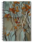 Fall Branches With Deer Spiral Notebook