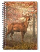 Fall Buck Spiral Notebook