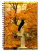 Fall Burst Spiral Notebook