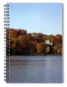 Fall By The River Spiral Notebook