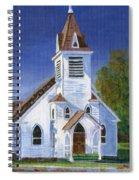Fall Church Spiral Notebook