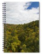 Fall Color Hills Mi 2 Spiral Notebook