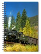 Fall Colored Bridge Spiral Notebook