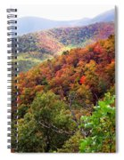 Fall Colors Along The Blueridge Spiral Notebook