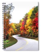 Fall Colors Along The Blueridge Parkway Spiral Notebook
