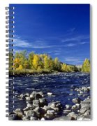 Fall Colors Along The Naches River Spiral Notebook