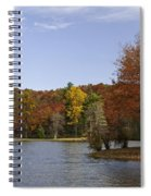 Fall Colors At Sherando Lake Spiral Notebook