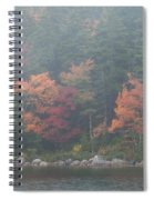 Fall Colors In Acadia National Park Maine Img 6483 Spiral Notebook