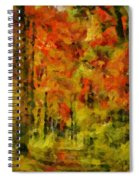 Fall Colors In Ohio Spiral Notebook