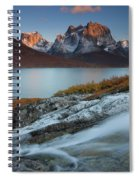 Fall Colors In Tasermiut Fiord Spiral Notebook