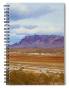 Fall Colors In The Lake Bed Spiral Notebook