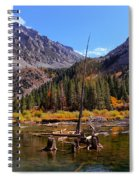 Fall Colours Reflection Spiral Notebook