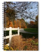 Fall Comes To The Hollow Spiral Notebook