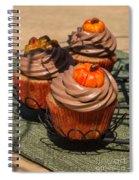 Fall Cupcakes Spiral Notebook