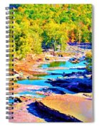 Fall Drought @ Ashokan Spiral Notebook