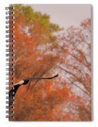 Fall Eagle Spiral Notebook