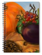 Fall Festival Spiral Notebook