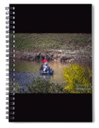Fall Fishing Spiral Notebook