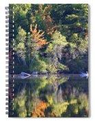 Fall Fishing Spiral Notebook