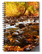 Fall Flow At Mcgee Creek Spiral Notebook