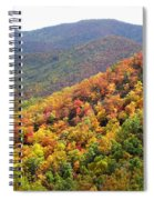 Fall Folage 2 Along The Blueridge Spiral Notebook