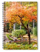 Fall Folage And Pond 2 Spiral Notebook