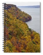 Fall Foliage On The New Jersey Palisades II Spiral Notebook