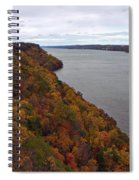 Fall Foliage On The New Jersey Palisades  Spiral Notebook