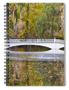Fall Footbridge Spiral Notebook