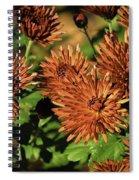 Fall Garden Flowers Spiral Notebook
