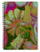Fall Gourds Pinked Spiral Notebook