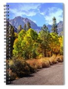 Fall Hiking In The High Sierras Spiral Notebook