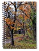 Fall Homestead Spiral Notebook