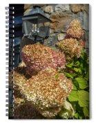 Fall Hydrangrea Spiral Notebook