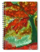 Fall Impression By Jrr Spiral Notebook