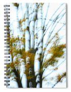 Fall In Motion Spiral Notebook