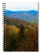 Fall In The Blue Ridge Mountains Spiral Notebook
