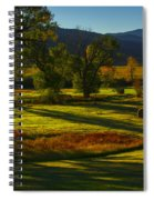 Fall In The Fields Spiral Notebook