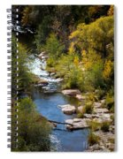 Fall In The Mountains Spiral Notebook