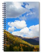Fall In The Rockies Spiral Notebook