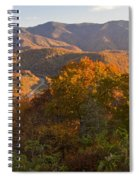 Fall In The Smoky Mountains Spiral Notebook