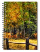 Fall Is In The Air  Spiral Notebook
